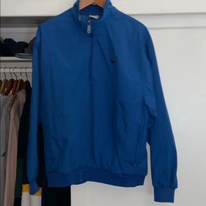 Vintage nike quarter zip windbreaker